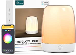 Smart Night Light Treatlife Bedside Lamp Compatible with Alexa and Google Home, Automated Schedules, APP Control Table Lamps for Bedrooms, Dimmable Light & Color Changing RGB Glow Light