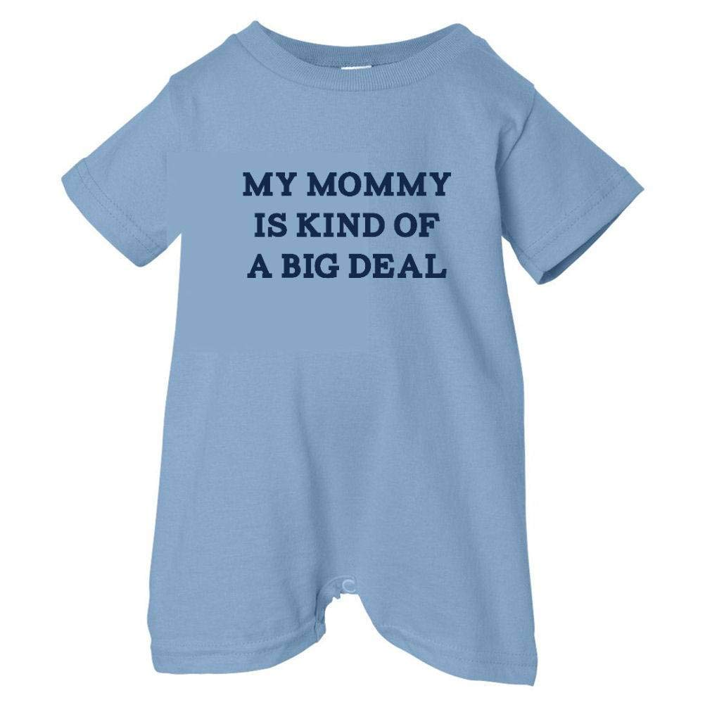 Unisex Baby Mommy Is Big Deal T-Shirt Romper So Relative