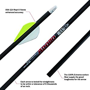 Sweepstakes: REEGOX Archery Carbon Arrows for Compound and Recurve Bow...