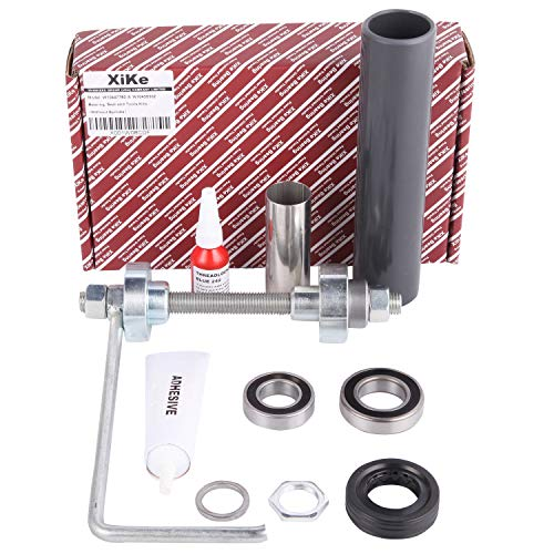 XiKe W10447783 & W10435302 Washer Tub Bearing and Installation/Removal Tool Kit, Replacement for Whirlpool and Maytag 2119011, 2118925, W10435274, W10435285, W10447782 W10193886 and PS3503261 Etc.