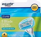 Equate 5-Blade Razor Cartridges - Compare to Venus Embrace (Pack...