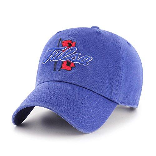 (NCAA Tulsa Golden Hurricane OTS Challenger Adjustable Hat, Royal, One Size)