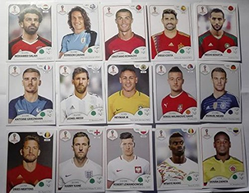 COMPLETE Collection Panini 2018 RUSSIA World cup 670 Stickers + Album FIFA International edition by Panini
