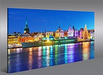 Quadro moderno antiguo de Stockholm de Suecia Impresión ...
