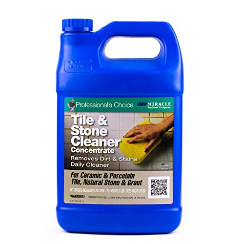 Porcelain Tiles Slate (Miracle Sealants TSC GAL SG Tile and Stone Cleaner, 1 gal Bottle)