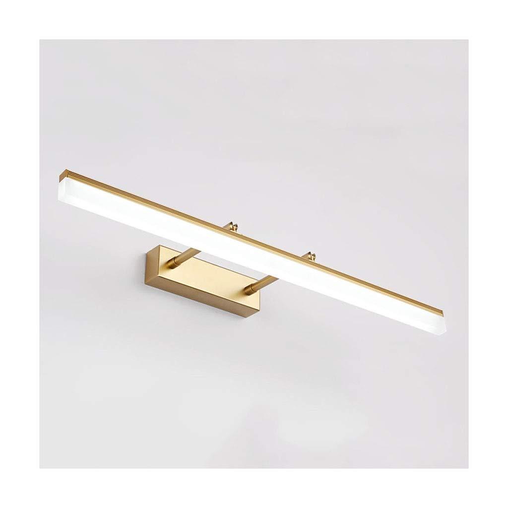@Badezimmer Lichter Spiegel Frontleuchte Flur Bad Badezimmer Spiegel Scheinwerfer Make-Up Lampe Teleskopspiegel Licht LED Deckenleuchte (Farbe   Positive Weiß light-40cm)