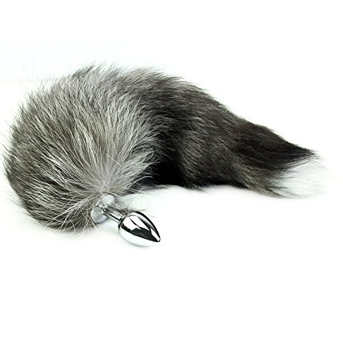 Shanhai New Love Faux Fox Tail Butt Anal Plug Sexy Romance Sex Toy Funny Adult Product by BFY