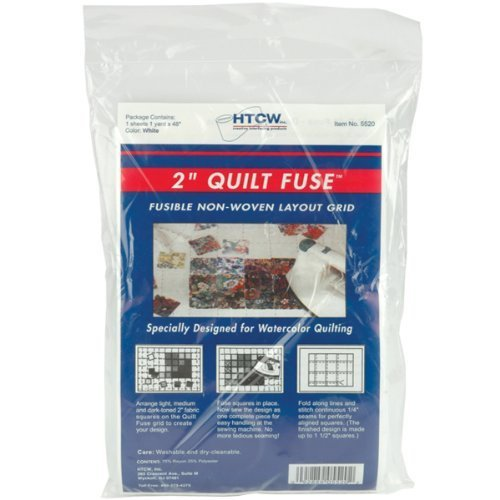 100067 quilt fuse fusible nonwoven layout grid