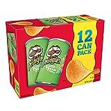 Pringles Potato Crisps, Sour Cream & Onion, 2.8-Ounce Packages (Pack of 12)