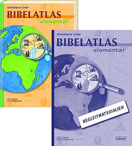 Bibelatlas elementar + Begleitmaterialien: Kombipaket