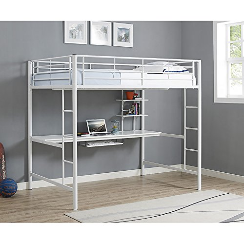bunk bed with desk full size - 3