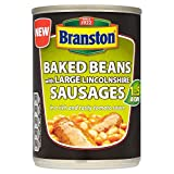 Branston Baked Beans with Large Linconshire Sausage (390g) - Pack of 6