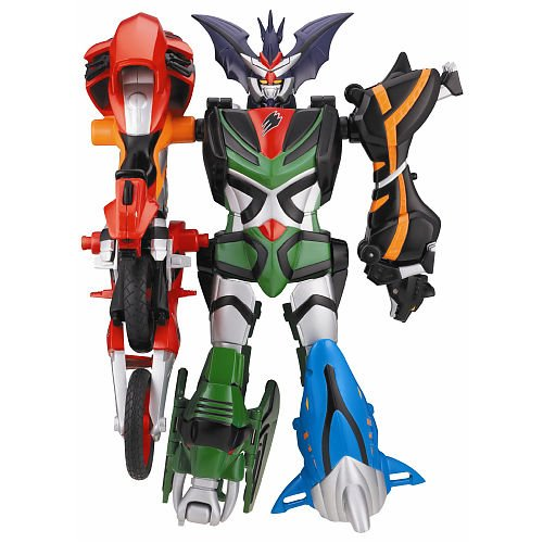 Amazon power rangers jungle fury transforming megazords amazon power rangers jungle fury transforming megazords transforming beast master megazord toys games voltagebd Image collections