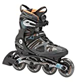 K2 Skate VO2 90 Boa Inline Skates, Grey/Blue/Orange, 10.5