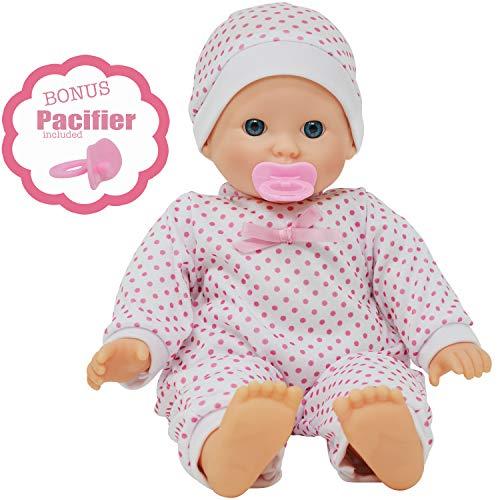14 inch Soft Body Caucasian Baby Doll - Love New York Baby Doll