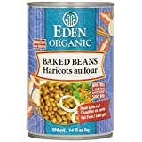 Eden Foods Organic Baked Beans with Sorghum & Mustard, 398 ml (Pack of 12)