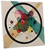 Barbican By Kandinsky. Printed on top quality canvas and stretched on 20 x 20 pine wood bars. Ships ready to hang. Quality Guaranteed. Brand new, made to order. Top Quality Fredrix Archival Canvas. Epson Printers and Inks. Professionally stretched ar...