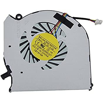 SWCCF New CPU Cooling Fan for HP Pavilion 17-f110nr 17-f111nr 17-f113dx 17-f114dx 17-f026nr 17-f027nr 17-f028ca 17-f028ds 17-f061us 17-f071nr 17-f078ca 17-f080ca