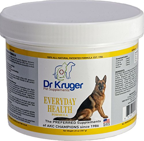 Dr Kruger Pet Supplements Everyday Health Formula - 20 Ounces by  Dr Kruger Pet Supplements
