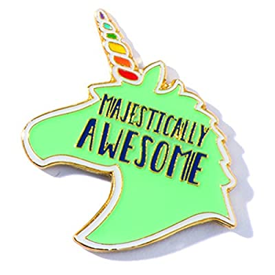Majestically Awesome Unicorn Appreciation Award Lapel Pin