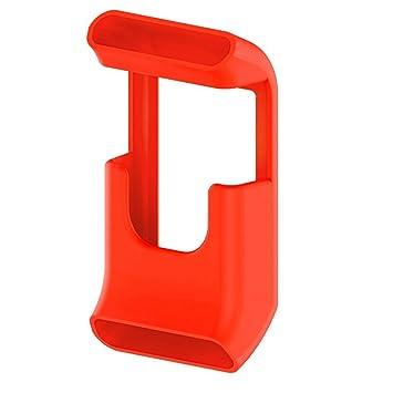 Boîtier de protection en silicone pour montre connectée Garmin VivoActive HR avec GPS, Orange