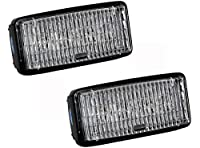 OZ-USA John Deere 12w LED (PAIR) cab head light RE306510 7400 7700 7800 8200 ...