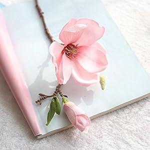 YJYdada Artificial Fake Flowers Leaf Magnolia Floral Wedding Bouquet Party Home Decor 6