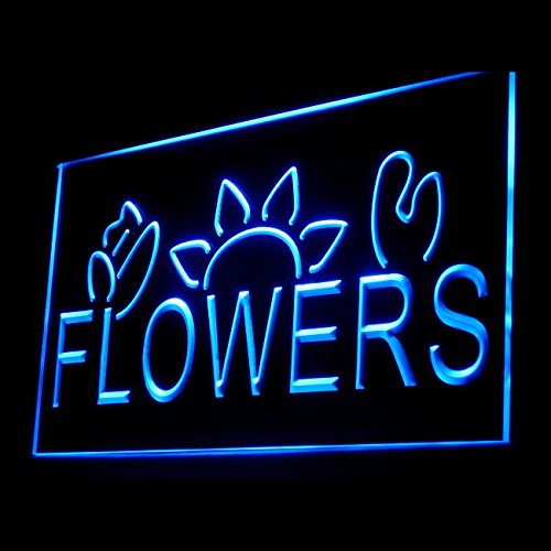 200031 Flower Shop Florist Paradise Petals Bauhinia Display LED Light Sign