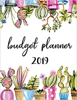 budget planner 2019 12 month budget planner book financial