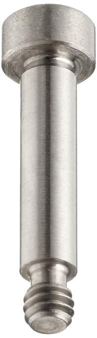 316 Stainless Steel Shoulder Screw 5//16-18 Threads Hex Socket Drive Socket Head Cap 11//16 Shoulder Length Pack of 1 1//2 Thread Length 3//8 Shoulder Diameter Plain Finish Partially Threaded Meets ASME B18.3 Made in US, Standard Tolerance