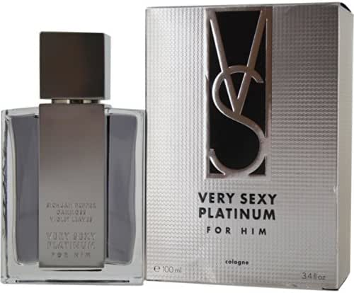 Victoria's Secret Cologne Spray, Very Sexy Platinum, 3.4 Ounce
