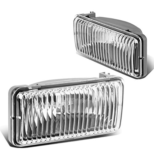 For 98-04 Chevy S10 / Blazer GMT325 Pair of Bumper Driving Fog Lights (Clear Lens)