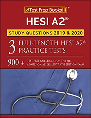 best hesi study guide 2020 HESI A2 Study Questions 2019 & 2020: Three Full Length HESI A2