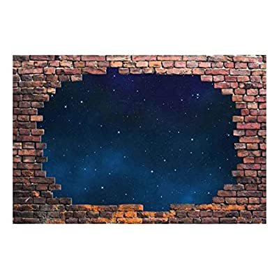 Large Wall Starry Night 3D Wall Wall Decor...
