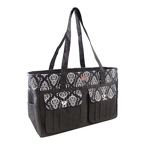 della Q Isabella Knitting Bag (18'' W x 11'' H x 6'' D); 109 Columbia 440-1-109 by della Q