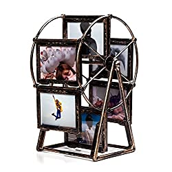 Ferris Wheel Photo Frame 5 inch Retro Style Can Rotated Personalized Unique Gifts Album Picture Frames Home Decoration