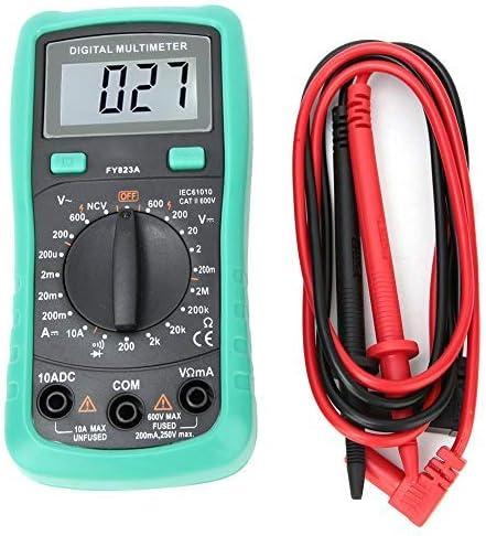 FY823A Multimeter Pocket Digital Multi Tester Voltmeter Ammeter Ohmmeter Voltage AC//DC Current Resistance Diodes Tester NCV Contactless voltage detection