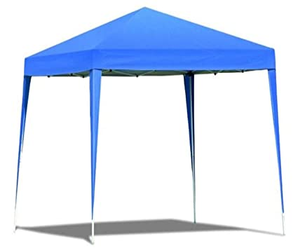 GT Gazebo Frame Kit Blue Outdoor Canopy Collapsible Tent Lighting Patio Deck for Patios Metal Folding  sc 1 st  Amazon.com : lighted outdoor canopy - afamca.org