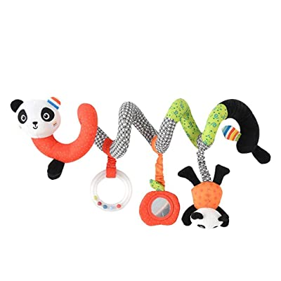 OYTRO Baby Crib Hanging Rattle Stroller Toys Bed Toy Plush Animal Infant Bell Pillows: Home & Kitchen