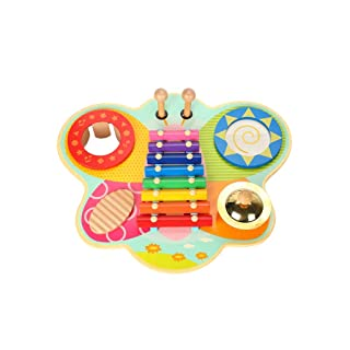 HXGL-Bussa al piano Children Knock On The Piano Strumenti A Percussione Regali Musicali Octaves Xylophone Toys Puzzle Early Education (Colore : Multicolore)