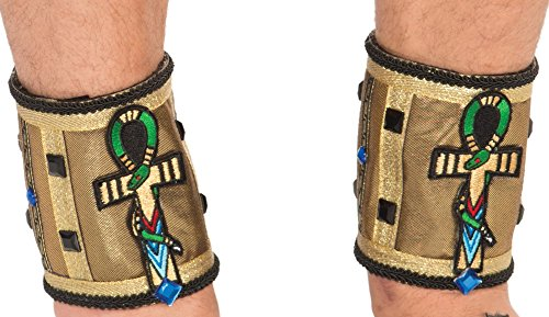 Deluxe Egypt Ankleband Male 1 Count]()