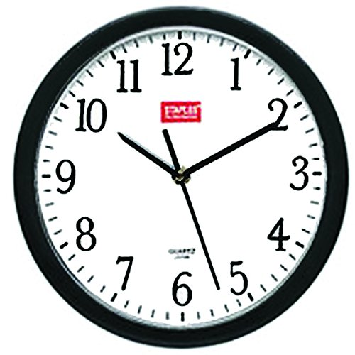 staples-10-round-wall-clock-black