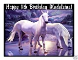 Mystical horses edible cake image frosting sheet
