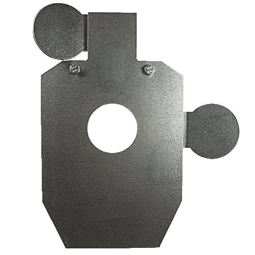 AR500-Targets 3/8'' 2/3 HOSTAGE HEAD AND CHEST by CleanCutMetal (Image #2)