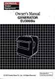 2012 HONDA POWER GENERATOR EU3000is OWNERS MANUAL (974)