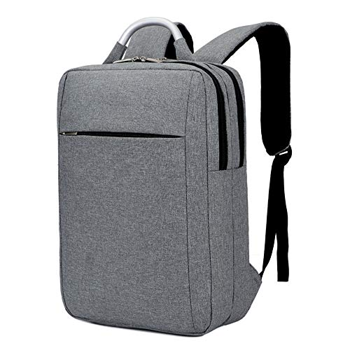 Business Travel Laptop Backpack Computer Bag For Men Women,Slim Water Resistant College School Bags,Vertical Lightweight Notebook Knapsack Fits Under 16 inch(Grey) ()