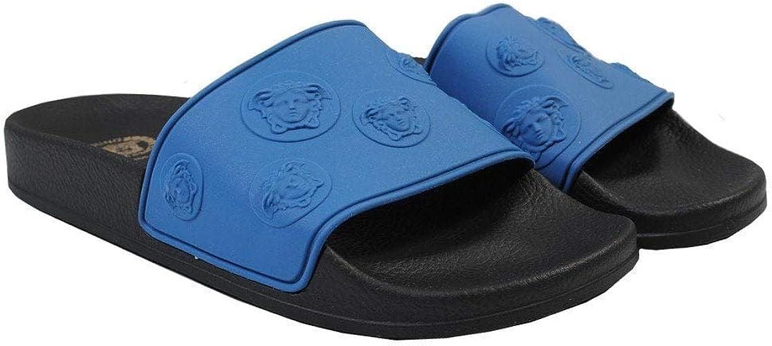 Blue Medusa Sandals EU39 Black