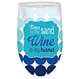 Wine in My Hand Double-Wall Stemless Acrylic Wine Glass