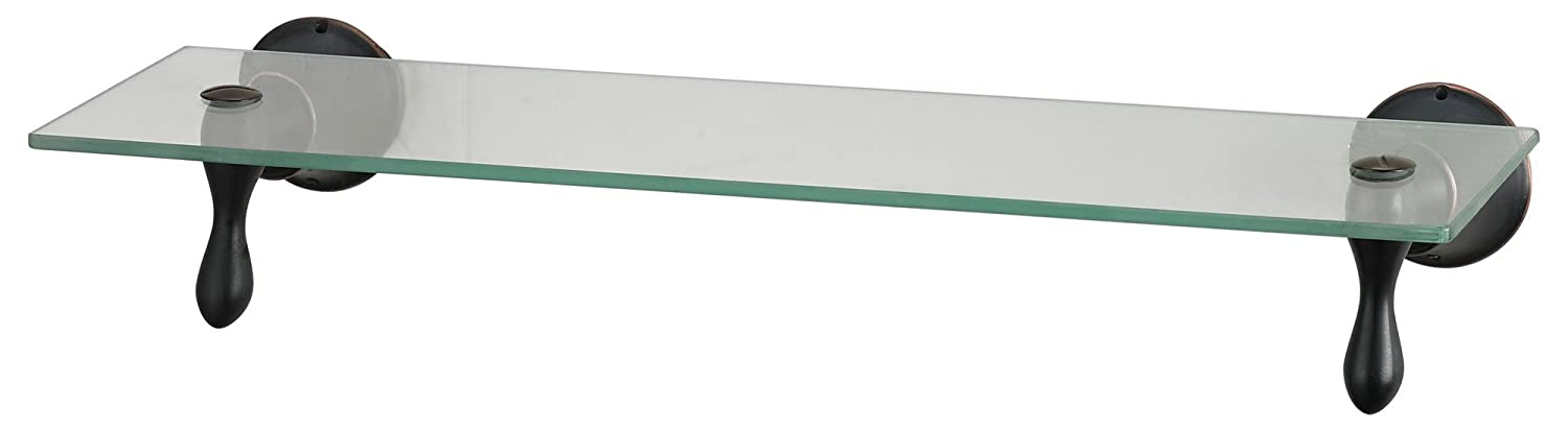 Amazon.com: Sterling Zinc/Glass Shelf, 18-Inch, Oil Rubbed Bronze ...