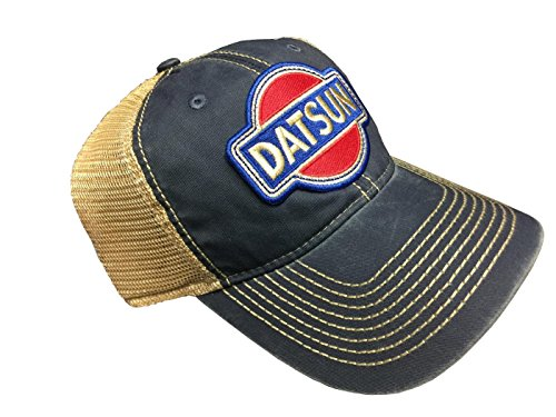 ae1ab3bb6f6f29 Vintage Datsun Tea-Stained Mesh Snapback Cap (Blue) - Buy Online in Oman. |  Sporting Goods Products in Oman - See Prices, Reviews and Free Delivery in  ...